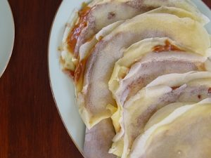 receta de crepas de cajeta